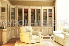 Мебель из массива для домашней библиотеки