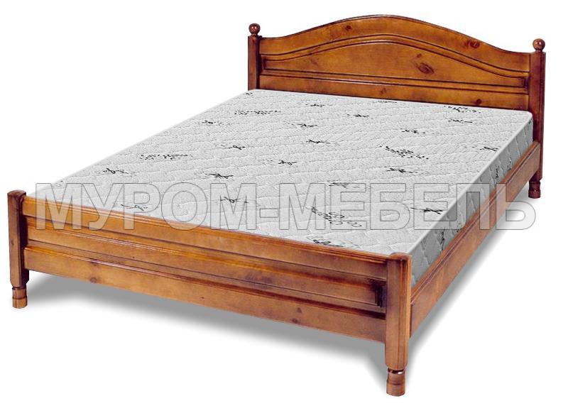 Здесь изображено Кровать Горка филенчатая
