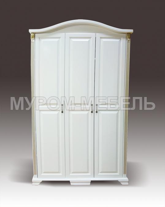 Здесь изображено Шкаф с гнутым багетом из серии