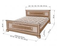 Здесь изображено Кровать Классика