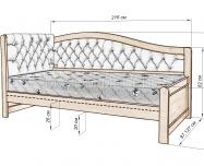 Здесь изображено Кровать Вероника Soft-М