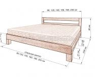 Здесь изображено Кровать Витязь