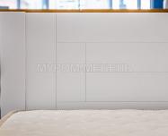 Здесь изображено Кровать Готика Nice (белая эмаль)