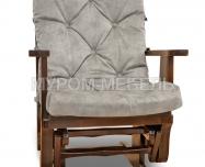 Здесь изображено Кресло-качалка маятникового типа (береза)