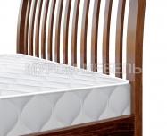Здесь изображено Кровать Беатрис (бук)