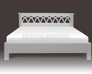 Здесь изображено Кровать Лира (Lux)