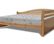 Здесь изображено Кровать Вероника Hard