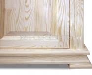Здесь изображено Шкаф 3-х створчатый из серии