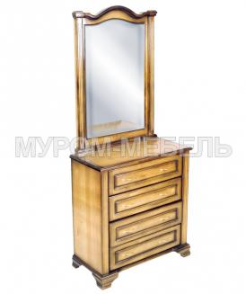 Здесь изображено Комод Гармония с зеркалом