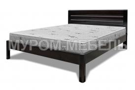 Здесь изображено Деревянная кровать Блэр