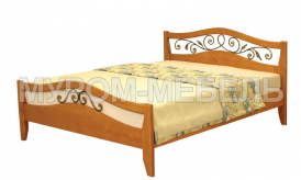 Здесь изображено Кровать Алиса (ковка)