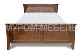 Здесь изображено Деревянная кровать Боцен
