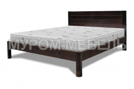 Здесь изображено Деревянная кровать Готика