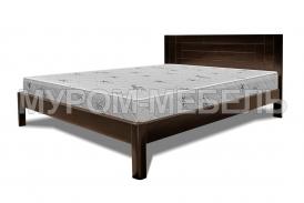 Здесь изображено Деревянная кровать Готика Nice
