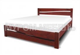 Здесь изображено Кровать Карина из дерева