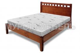 Здесь изображено Деревянная кровать Кёльн