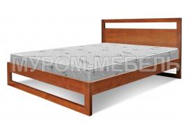 Здесь изображено Деревянная кровать-тахта Квебек