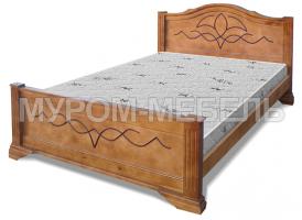 Здесь изображено Кровать Лилия