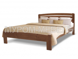 Здесь изображено Кровать Магнолия из дерева