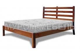 Здесь изображено Деревянная кровать Марта Hard