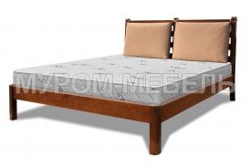 Здесь изображено Деревянная кровать Марта Soft