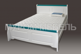Здесь изображено Деревянная кровать Прованс Скай