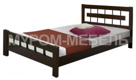 Здесь изображено Деревянная кровать Сакура