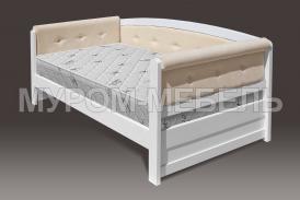 Здесь изображено Деревянная кровать Верона Soft