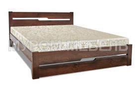 Здесь изображено Деревянная кровать Веста