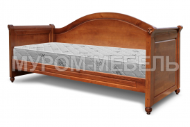 Здесь изображено Кровать Ассоль с ортопедическим основанием