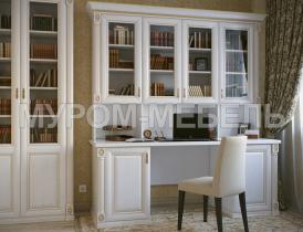 Здесь изображено Письменный стол с надстройкой из серии