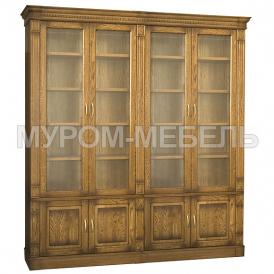Здесь изображено Библиотека 4-х дверная Флоренция