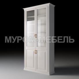 Здесь изображено Шкаф двухстворчатый из серии