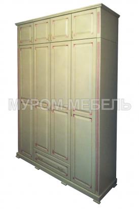 Здесь изображено Шкаф с прямым багетом из серии