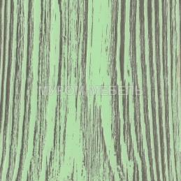 Зеленая эмаль с бежево-коричневой патиной
