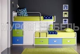 Выбор детской мебели для двух мальчиков