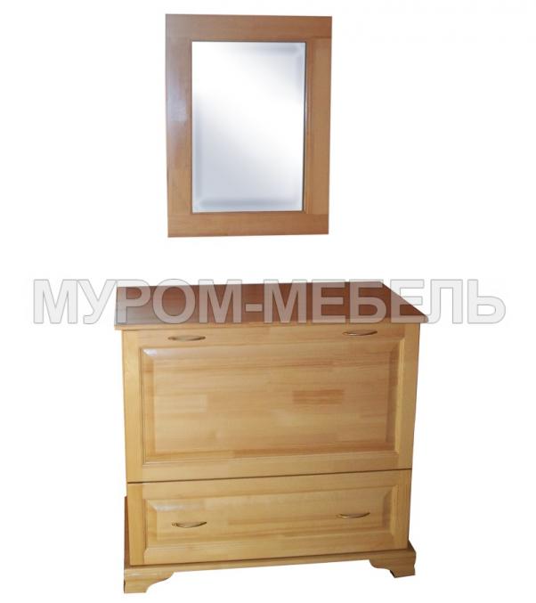 Здесь изображено Бельевица с зеркалом