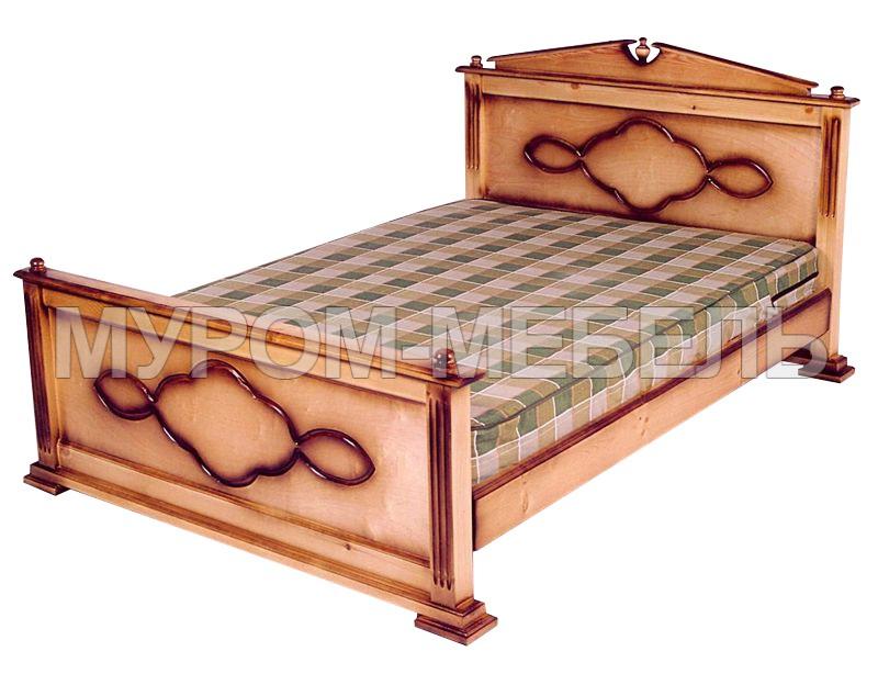 Здесь изображено Кровать Клеопатра
