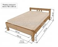 Здесь изображено Кровать Ока