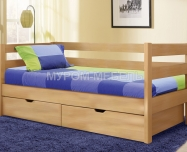 Здесь изображено Кровать Детская с ящиками