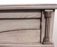 Здесь изображено Кровать Мелиса из березы