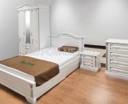 Здесь изображено Спальный гарнитур Оливия Люкс