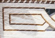 Здесь изображено Кровать Мелиса из дуба