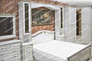 Здесь изображено Спальный гарнитур Оливия