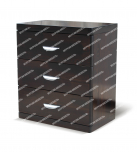 Здесь изображено Тумба 3 ящика из серии