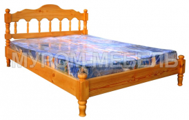 Здесь изображено Недорогая кровать-тахта Каролина