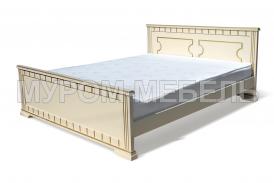 Здесь изображено Двуспальная кровать Бажена