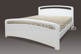 Здесь изображено Деревянная кровать Бэлиз