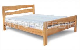Здесь изображено Недорогая кровать Карина-1