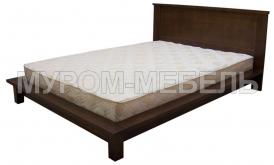 Здесь изображено Кровать Ева из сосны